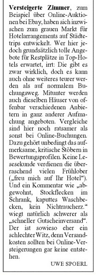 hotels bei e-bay